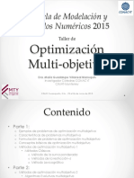 Optimizacion Multi-objetivo