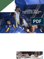 Los Niños Tras El Terremoto Del 16 De