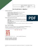Evaluacion Ecuaciones Quinto A