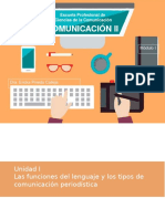Comunicacion II Periodismo
