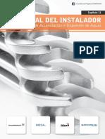 Manual del Instalador Capítulo 11 - Sistemas de acumulación de aguas