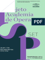Programa de Sala | Academia de Ópera | Setembro II