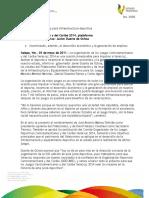 03 05 2011 - El gobernador Javier Duarte de Ochoa asistió a la Sesión del Fideicomiso de los Juegos Centro Americanos y del Caribe e Instalación del Comité Organizador de los Juegos Centro Americanos y del Caribe.