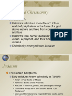 power point judaism and christianiy