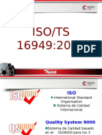 Introduccion ISO/TS 16949