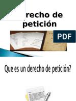 Exposicion Derecho de Petición