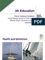 Pavlekovic.health Education