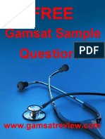 Free Gamsat Sample Questions.pdf