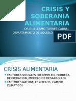 Crisis y Soberanía Alimentaria