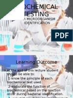 Lec 1biochemical Testing