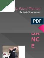 A Six Word Memoir