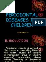 Periodontal Diseases in Children Pedo