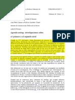 LLAMAS - Agenda-setting. Investigaciones Sobre El Primer y Segundo Nivel.
