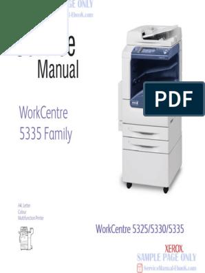 Xerox Workcentre 5325 5330 5335 Service Manual Free | File Transfer