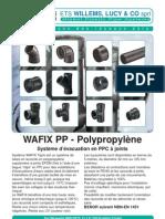 Catalogue WAFIX PP Evacuation 042010