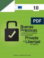 Buenas prácticas y acceso a la justicia de la Población Privada de Libertad en Bolivia