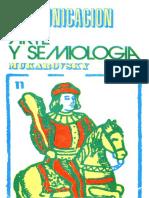 Mukarovsky Jan - Arte Y Semiologia.pdf