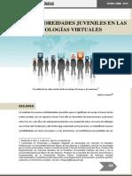 Nuevas Corporeidades Juveniles en Las Tecnologias Virtuales-EL SALVADOR-2016