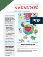 spanish 1 syllabus 2016-17