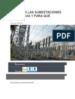 Qué Son Las Subestaciones Eléctricas y Para Qué Sirven