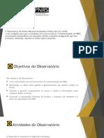 Apresentação Luciana Freitas -  Observatório da Política Nacional de Resíduos Sólidos