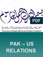 Pak US Relations