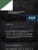 Clase3 - NarrativaLiterariaHistoriográfica