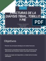Fracturas de Pierna, Tobillo y Pie