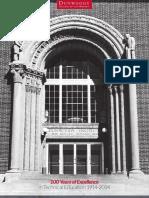 Alumni Centennial Timeline