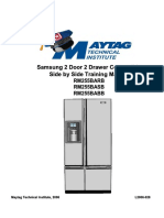 l2006-028 Samsung 2 Door 2 Drawer Convertible Side by Side Refrigerator