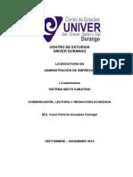 Antologia Comunicacion, Lectura y Redaccion Avanzada