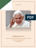 Homilías pascuales - II  P Benedicto XVI