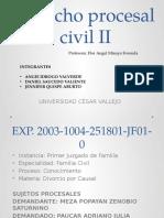 Derecho Procesal Civil DIVORCIO