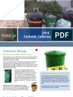 2016 Curbside Collection Calendar Mission BC
