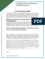(SI) vulnerabilidad de Watsapp y Apple.docx