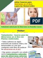 Remedios Caseros Para Las Almorranas en El Ano Hierbas Para Las Hemorroides