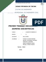 Zapata Excentrica 2