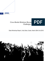 CBRP Unity State Workshop Report