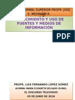Conocimiento y Uso de Fuentes y Medios de Información
