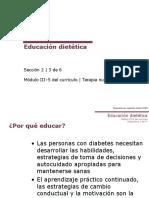 Educacion Dietetica