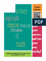 plagiarism poster