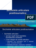 Sechelele articulare posttraumatice