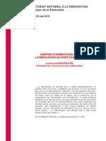 Rapport Montebourg sur la rénovation du PS