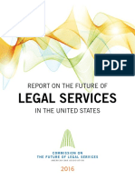 American Bar Association (2016) Report on the Future of Legal Services in the U.S