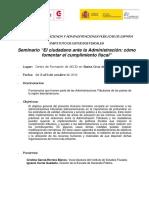 Programa y Disposiciones Administrativas