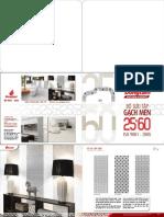 Catalogue Gach Men Gach Granite 25x60 Dong Tam