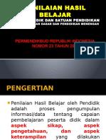 Penilaian Permendikbud 23 Th 2016