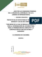 Plebiscito Por La Paz