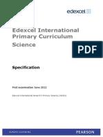 Curriculum Science