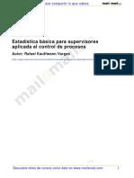 Estadistica Basica Supervisores Aplicada Control Procesos 24609